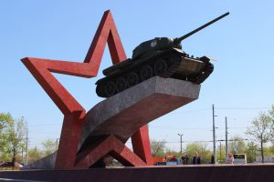 Липецк памятник танкистам