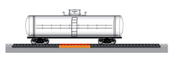 РД-50(Т) для потележечного взвешивания четырехосных вагонов