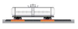РД-100 для статического взвешивания четырехосных вагонов